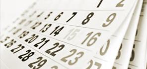 Programa semanal de Terapias y Servicios